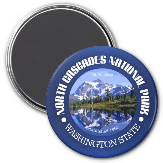 North Cascades National Park Magnet