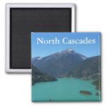 North Cascades National Park Square Magnet