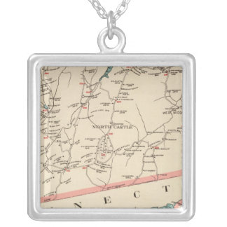 North Castle town Silver Plated Necklace