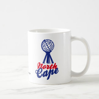 NORTH CASTRATES GLOBE SCULP. BASIC WHITE MUG