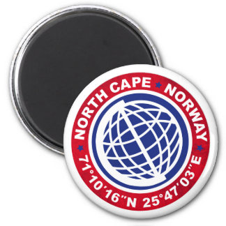 NORTH CASTRATES SPECIAL NORWAY 6 CM ROUND MAGNET