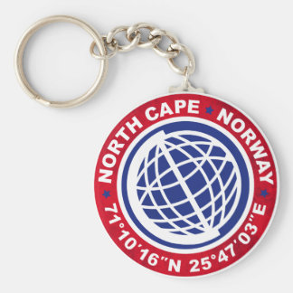 NORTH CASTRATES SPECIAL NORWAY KEY RING