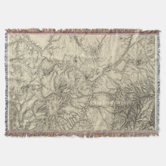 North Central New Mexico Throw Blanket