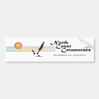 North Coast CAtamarans Bumper Sticker