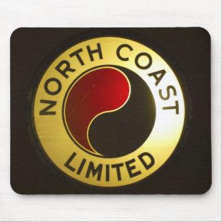 North Coast Railroad Sign Mousepad