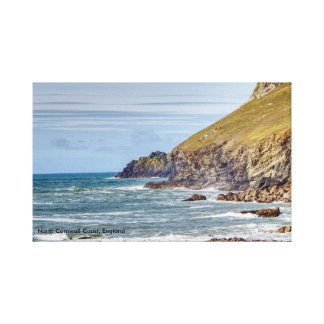 North Cornwall Coast England Canvas Print