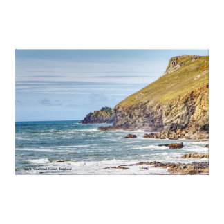 North Cornwall Coast, Englandh Canvas Print