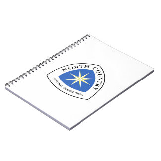 North Country Trail Sign, USA Note Book