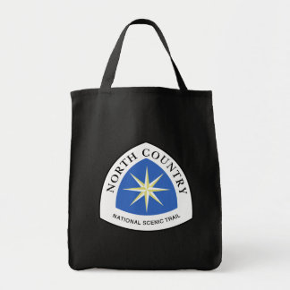 North Country Trail Sign, USA Tote Bag