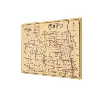 North Dakota 2 Canvas Print