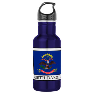 North Dakota 532 Ml Water Bottle