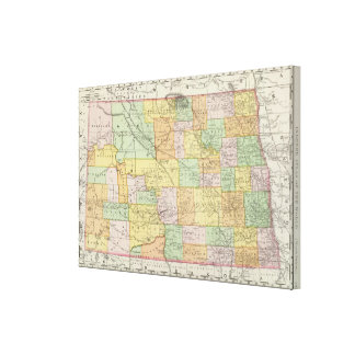 North Dakota Canvas Print