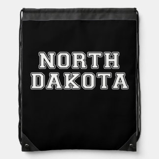 North Dakota Drawstring Bag