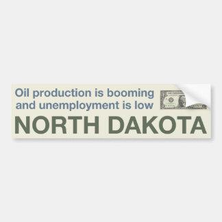North Dakota Economic Prosperity Bumper Sticker