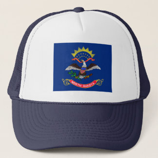 North Dakota Flag Hat