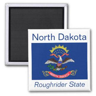 North Dakota Flag Magnet