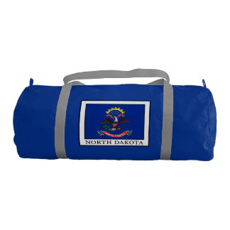 North Dakota Gym Duffel Bag
