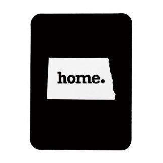 North Dakota Home Rectangular Photo Magnet