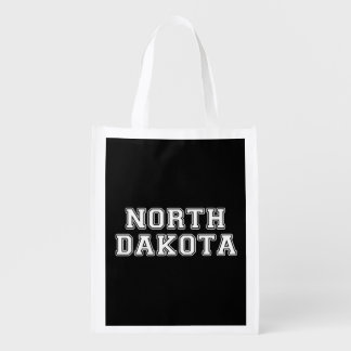 North Dakota Reusable Grocery Bag