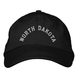 North Dakota State Embroidered Embroidered Hat