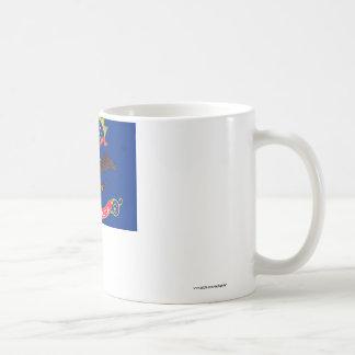 North Dakota State Flag Basic White Mug