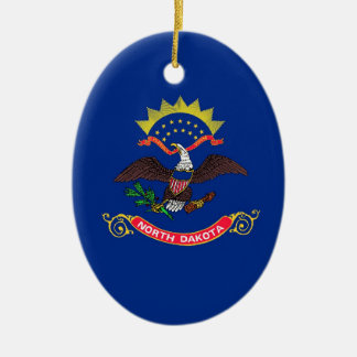 North Dakota State Flag Ornament