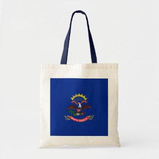 North Dakota State Flag Design Budget Tote Bag