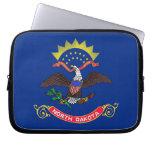 North Dakota State Flag Laptop Sleeve