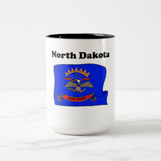 North Dakota State Flag Mug