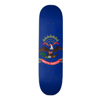North Dakota State Flag Skateboards