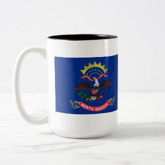 North Dakota State Flag Two-Tone Mug