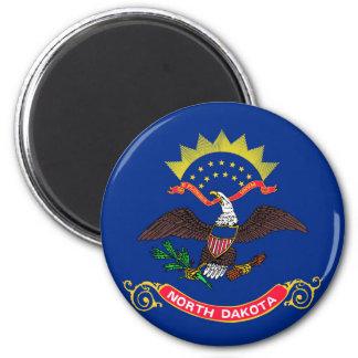 north dakota state flag united america republic sy 6 cm round magnet