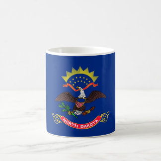 north dakota state flag united america republic sy basic white mug