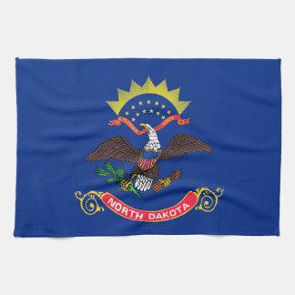 north dakota state flag united america republic sy kitchen towel