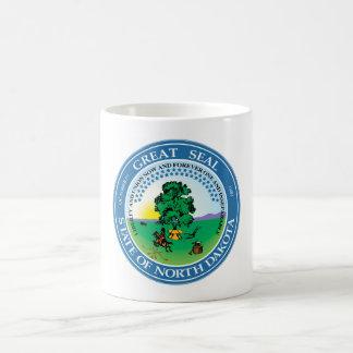 North Dakota state seal america republic symbol fl Coffee Mug