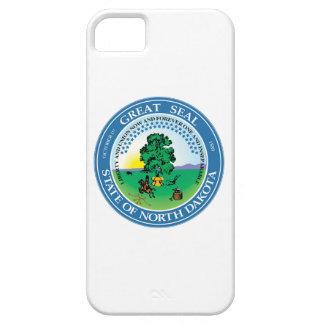 North Dakota state seal america republic symbol fl iPhone 5 Case