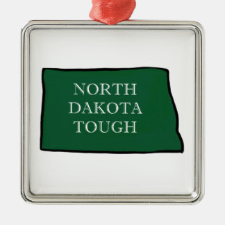 North Dakota Tough Christmas Ornament