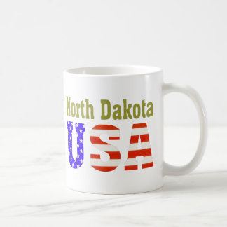 North Dakota USA Aashen alpha Basic White Mug