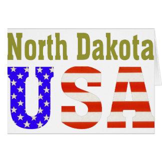 North Dakota USA Aashen alpha Card