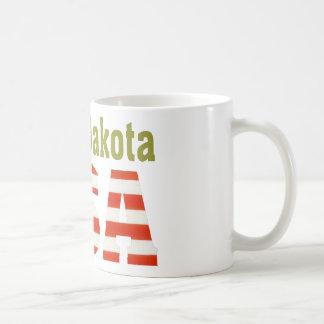 North Dakota USA Aashen alpha Classic White Coffee Mug