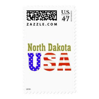 North Dakota USA Aashen alpha Postage Stamps