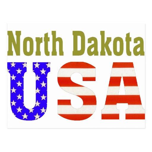 North Dakota USA Aashen alpha Postcard