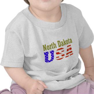 North Dakota USA Aashen alpha Tee Shirts