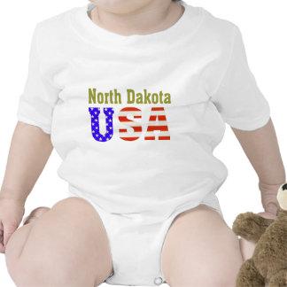 North Dakota USA Aashen alpha Baby Bodysuits