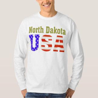 North Dakota USA Aashen alpha Tshirts