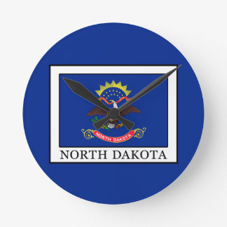 North Dakota Wallclock