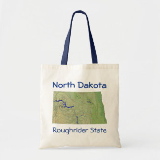 North Dakotan Map Bag
