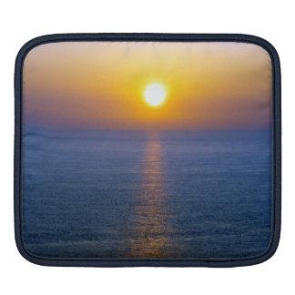 North Devon Hartland Volcanic Ash Cloud Sunset .3. iPad Sleeve
