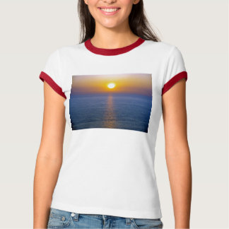 North Devon Hartland Volcanic Ash Cloud Sunst T-Shirt