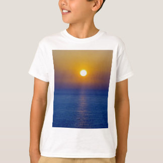 North Devon Hartland Volcanic Ash Sunset T-Shirt